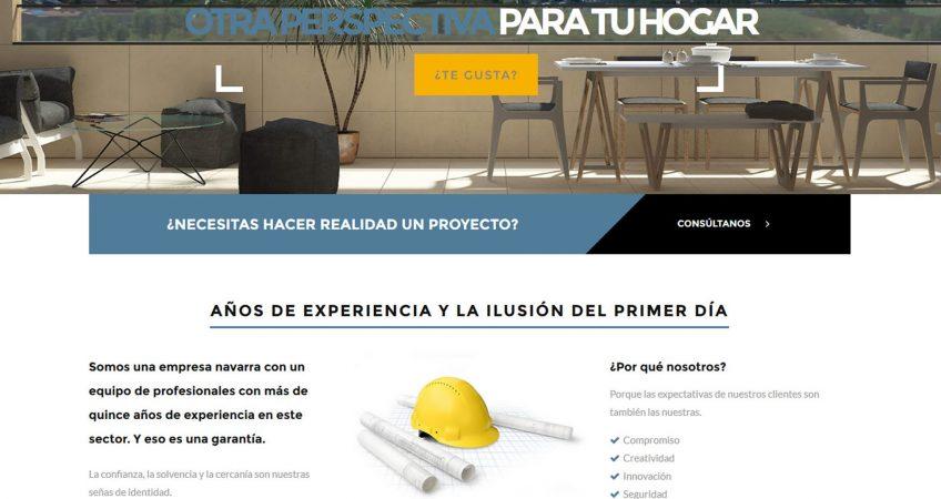 Web Baluarte Construcción
