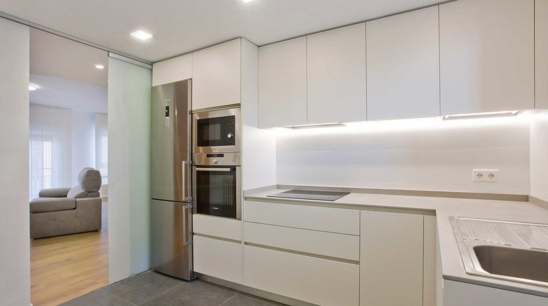 reforma integral de un piso de 90 metros cuadrados
