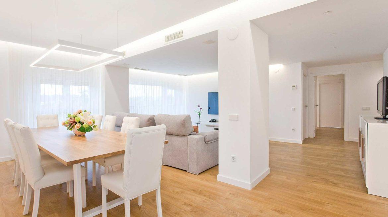 Reforma completa de un piso de 150 metros cuadrados for Reforma integral piso 100 metros