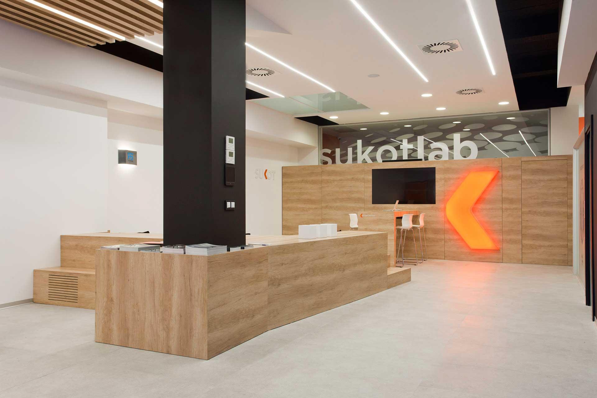 Reforma local comercial Sukot