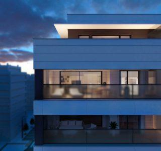 Viviendas nueva Lezkairu terraza