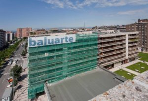 Rehabilitación fachada Baluarte Construcción 1